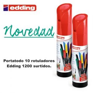 Baner-88408-PORTATODO 10 ROT. EDDING 1200 SURTIDOS